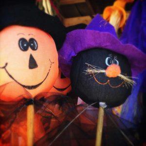 pumpkin and cat pillows halloween party decorations